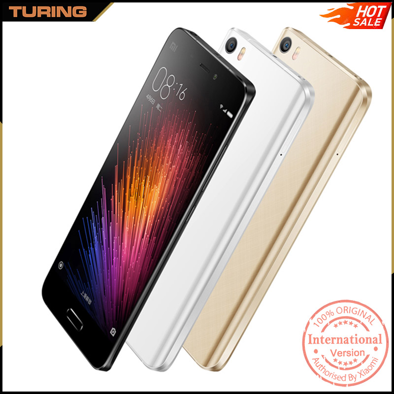 Xiaomi Mi5 Mi 5 Java Enabled Slim Cdma Xiomi Mi5 Mobile Phone 3GB RAM 32GB ROM Android 6.0 Quad Core 5.15 inch 13MP