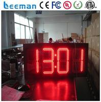 color temperature changing led light bulb outdoor led clock time date temperature sign flameless led timer