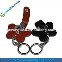 new design leather usb flash drive 1GB 2GB 4GB 6GB 8GB 16GB 32GB