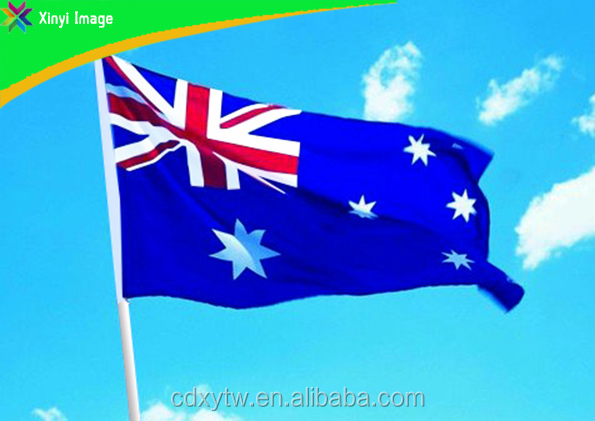 100% polyester Australia National flag