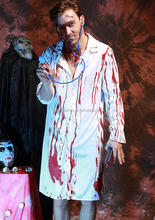 Cosplay Adult Men Bloody Horror Zombie Halloween Cosplay Costume