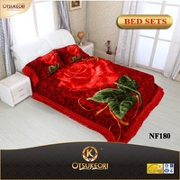 Hot sale blanket factory new embroidery bed sheet in China