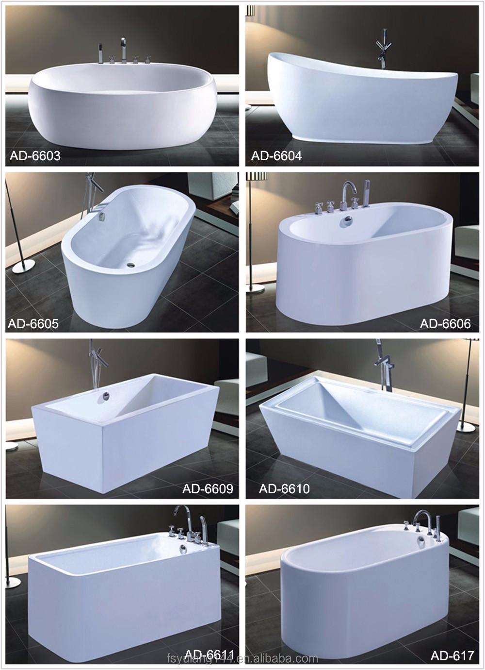 Ad-6642 High Quality Very Small Bathtub Japanese Soaking Tub ...