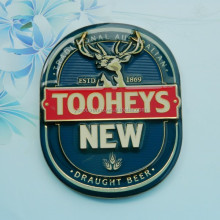 Soft enamel badge car badge with 3M sticker backside
