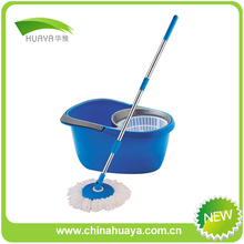 easy wring spin mop & bucket system mop for home HY-H012