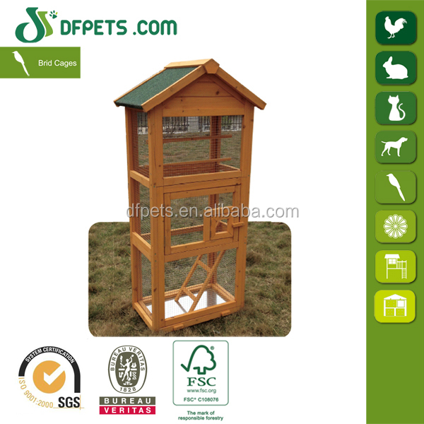 DFPets DFB014 Wooden Pigeon House With Perches