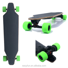 High speed motor powered skate board magneto yuneec e go electric skateboard