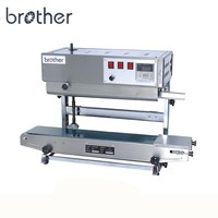 SF150LW Brother Electric Continuous Vertical Type Film Pouch Plastic Bag Heat Band Sealer