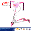 High quality kick scooter with Pu wheels flashlight/foot pedal scooter/kids scooter for sale