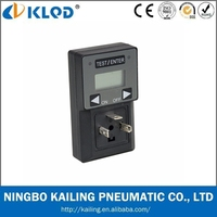 Mini Type Palstic Solenoid Valve Digital Timer