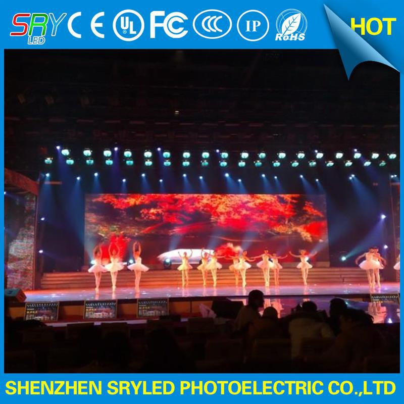 indoor fix installation display screen p6 outdoor advertising led display billboard led stage screen/rental led screen indoor