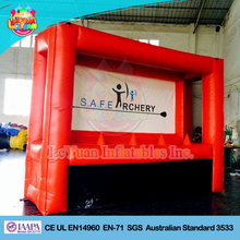 Red Archery Hover-ball / archery inflatable game