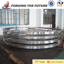 Large diameter alloy forged ring