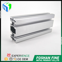 Alibaba china supplier liquid coating aluminum extrusion for kitchen cabinet door