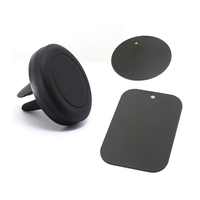 360 angle rotating simple design black universal cell phone holder for NOKIA X