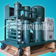 vacuum turbine oil purifier/turbine oil filtration/oil refinery