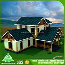 Promotion wooden cottage houses/house model with best price