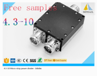 4.3-10 2 way power divider with 4.3-10 Micro-strip power divider wit 4.3-10 female connector for 2 3 4 way 4.3-10 power splitter