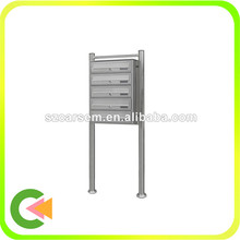 Stainless steel free standing mailbox,Water proof lockable mailbox