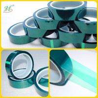 Silicone adhesive green wholesale polyester piping tape