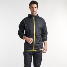 Training and jogging Wear Sportswear Type and Sets Style wholesale sweatsuit sauna suit track suits
