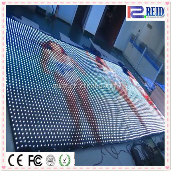 High quality china hd p5 led display screen hot xx flexible led video curtain