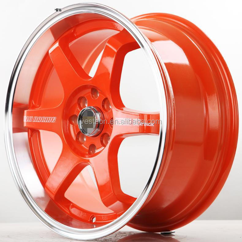 universal Auto Aluminum Wheel Rim For Racing Car