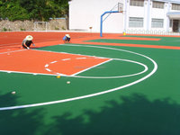 EPDM Granule Rubber Portable Basketball Court Sports Flooring (FL-A-16041302)