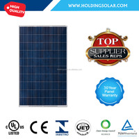 China high quality 260 watt polycrystalline silicon solar panel