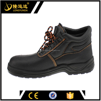 Oil water resistant S1P Working industrial safety boot/leather safety shoes/safety shoes price