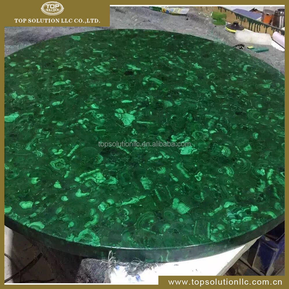 Green Agate Stone Slabs Translucent onyx stone/ Green stone table top