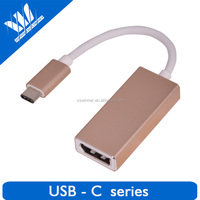 High Quality USB 3.1 Male To DP Female Adapter Type-C USB 3.1 Data Cable