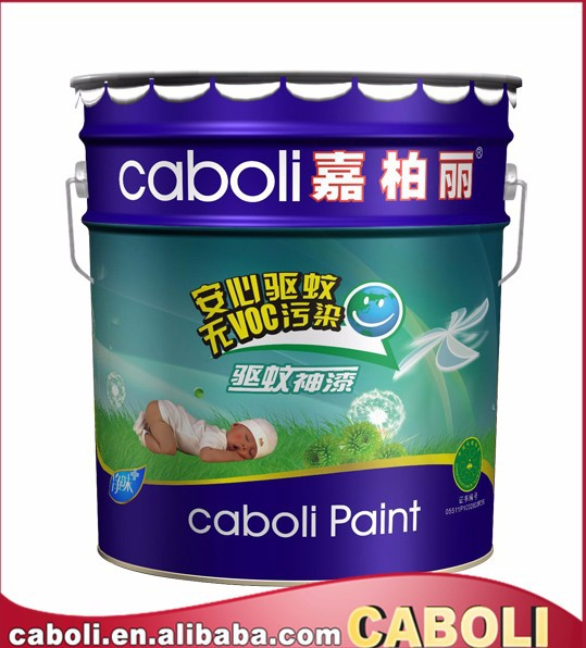 Harmless anti mosquito interior wall paint and emulsion