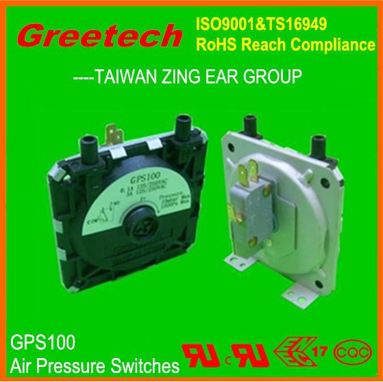 water heater gas pressure switch, square d pressure switch