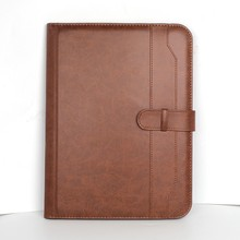 Xinghao brand document certificate embossing leather presentation file folder notebook