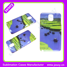 JESOY Custom 3D Sublimation Smart Phone Case Cover For Samsung Galaxy Note 3 Case