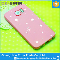 China Supplier TPU Phone Case Cover for Samsung S6