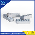 tungsten carbide gripper inserts for chuck jaw in diamond drilling material in tungsten carbide