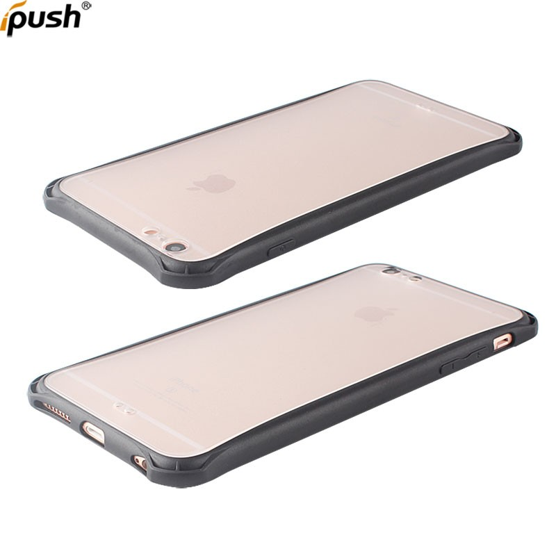 New product shockproof clear PC+TPU cover proetct case for iphone6 plus