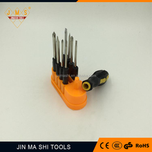 8 in 1 multi precision spiral ratchet torx screwdriver set