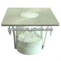 Stainless steel low voltage mini led deck light kit