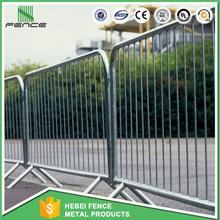 Cheap galvanized Pedestrian crowd control barriers with high quality