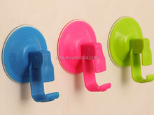 Hot selling 9*4cm magic plastic wall hook with suction cup