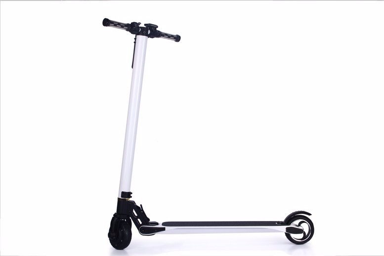 2016 newest hot sale 2 wheel electric scooter 6.3kg carbon fiber electric scooter scooter with cabin