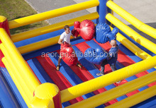 cheap inflatable wresting ring for sport/inflatable fighting sport games for adult