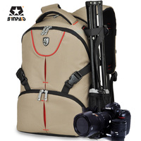 Waterproof Nylon SLR Camera Bag Backpack Brand Digital DSLR Camera Video Bag