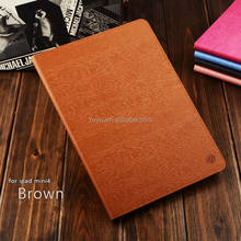 For ipad mini2/3 4 case with PC body and PU cover