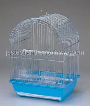 lower price high quality colorful folded small bird cage PET CAGES