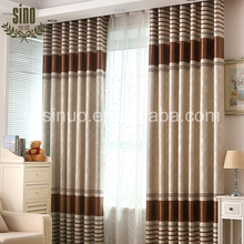 Luxury Custom Color Grommet Jacquard Sun Shade curtains