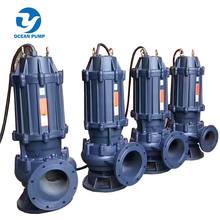 portable Submersible sewage Water Pump with electric motor